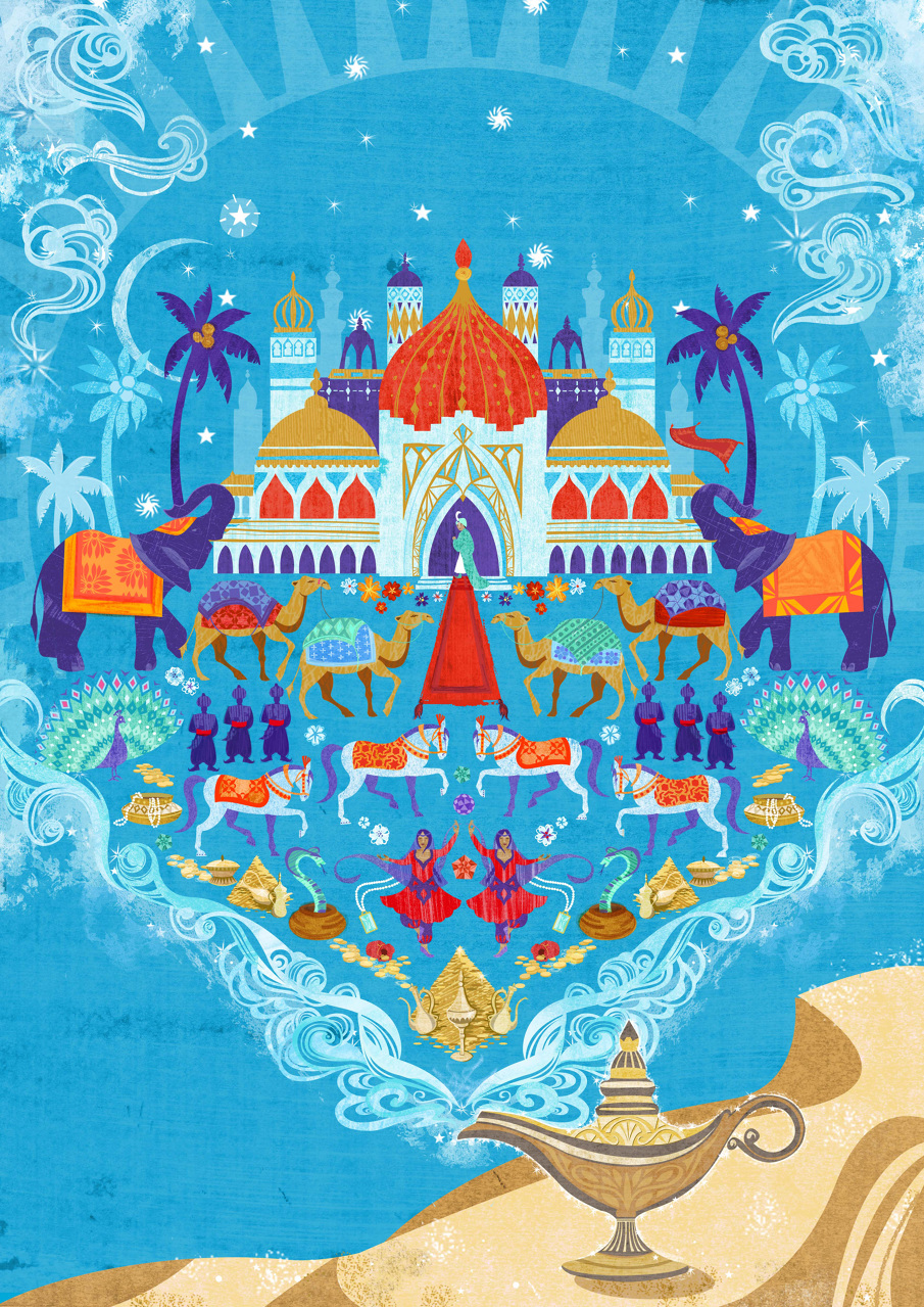 Aladdin Illustration Pictures to Pin on Pinterest - PinsDaddy